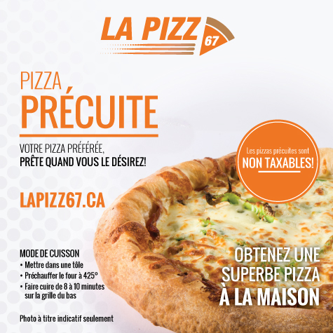 Pizza précuite