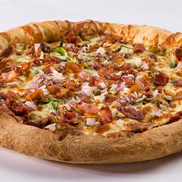 La pizz la plus garnie!